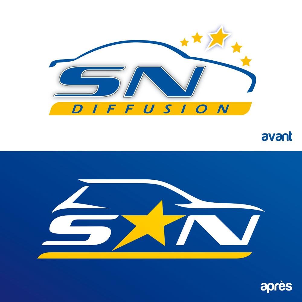 Nouveau logo SN Diffusion