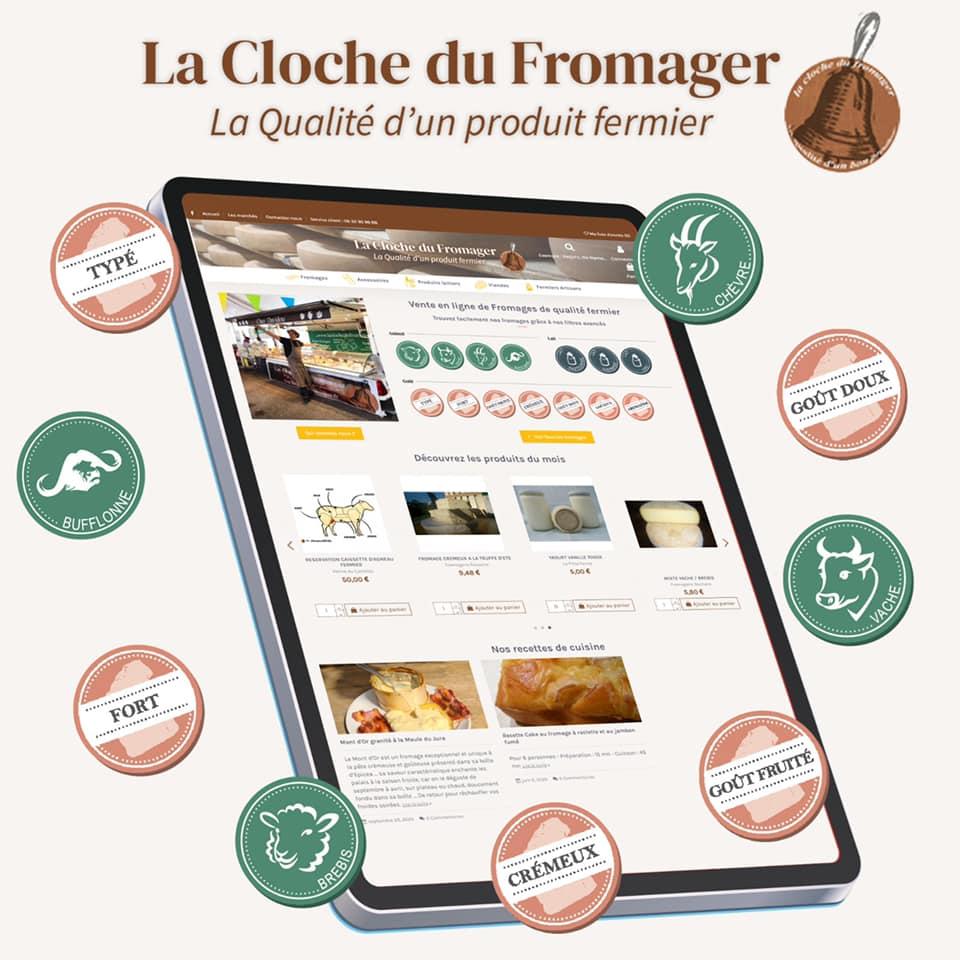 La Cloche du Fromager Boutique en Ligne
